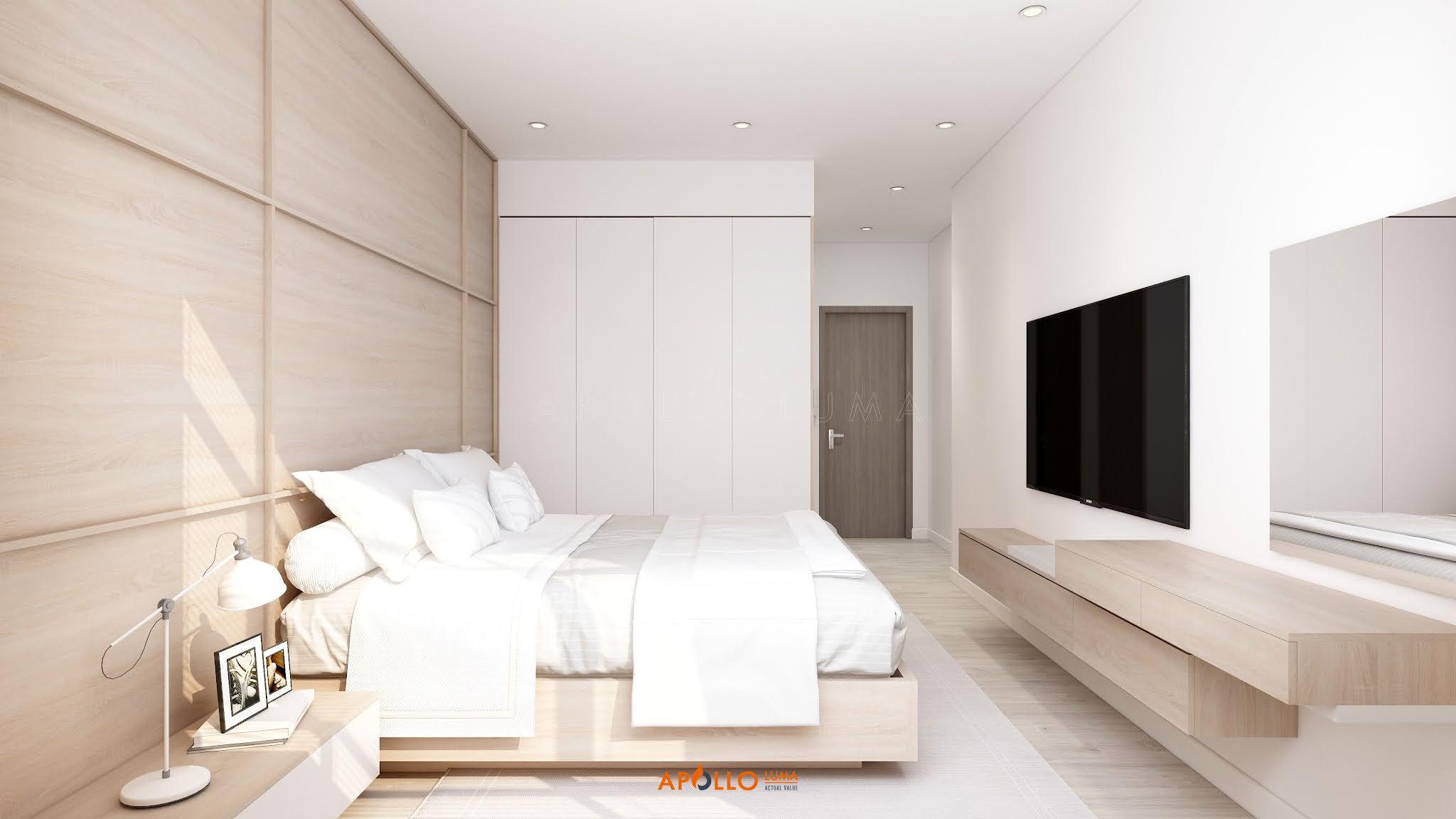 Thiết kế nội thất căn hộ 3 phòng ngủ The Terra An Hưng