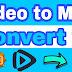 Video को MP3 में Convert कैसे करें | Free