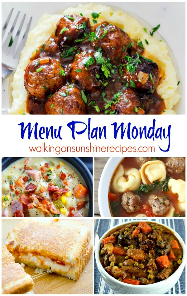 This week's Menu Plan Monday is all about comfort food.  Join me as I share some great comfort food meal ideas with you!
