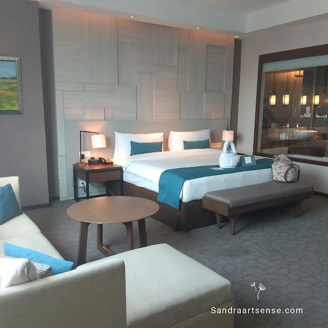 Staycation di hotel Crowne Plaza Bandung