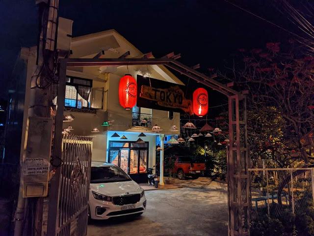 Phong cảnh lãng mạn ở Homstay Tokyo ở đường An Bình - Đà Lạt