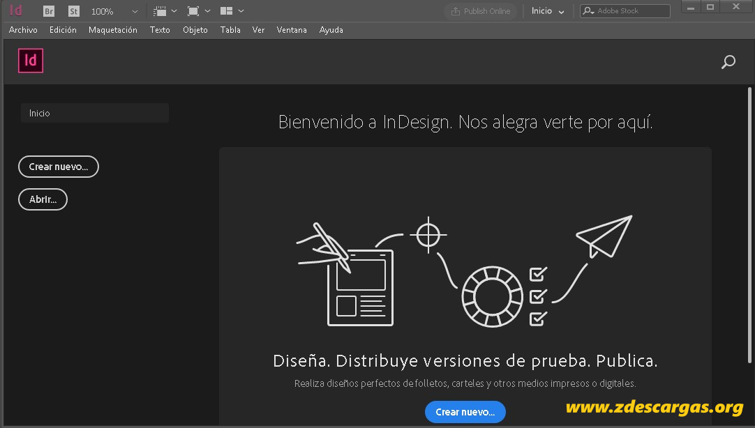 Adobe InDesign 2021 Full Español