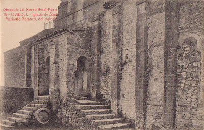 Postal, Oviedo, Santa María del Naranco, Nuevo Hotel París