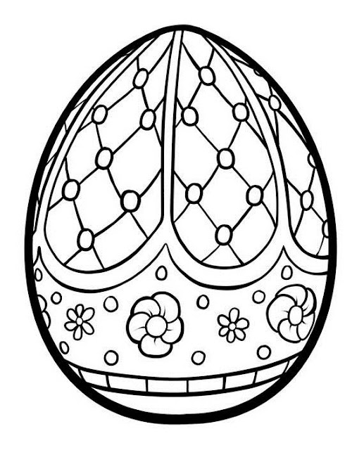 Coloring Easter Egg Images