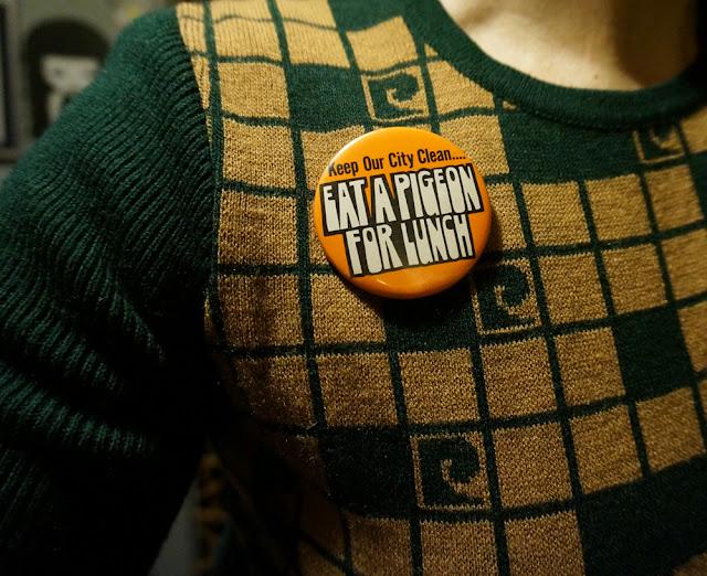 badge pinback subversive provocation