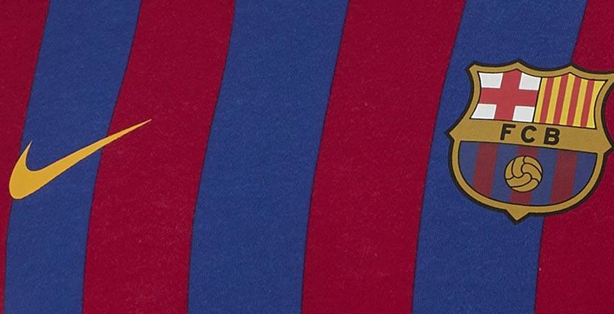 b33268d43b9 Classy Nike FC Barcelona 2019 LS Retro Shirt Released - Footy Headlines