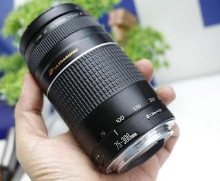 Canon 75-300mm III USM Bekas