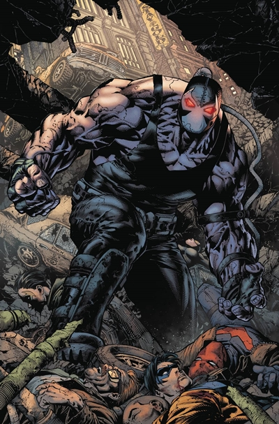 Bane cómic David Finch