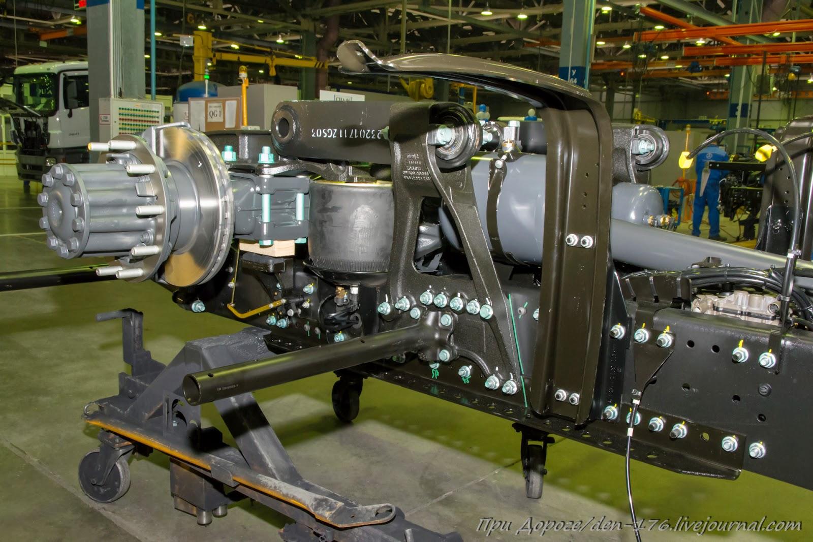 How to make MBTV 17 Mercedes Benz trucks in Naberezhnye Chelny
