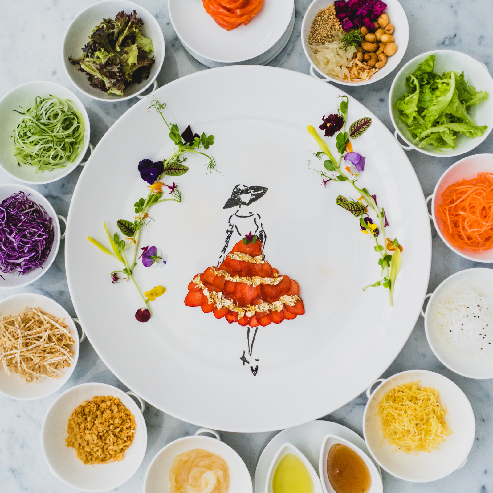 Vogue Lounge KL: Golden Yee Sang & Chinese New Year Dining