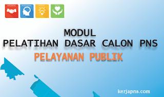 modul latsar cpns pelayanan publik