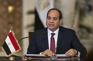 السيسي يعلن ترشحه لولاية ثانية  مدتها اربع سنوات