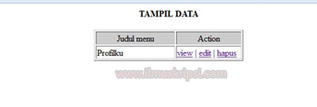 Cara Menampilkan Data dari Database MySQL dengan PHP