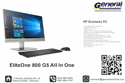 HP EliteOne 800 G5 All-in-One PC (Touchscreen)
