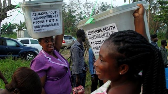 Ghanaians casting ballots in presidential, parliamentary elections