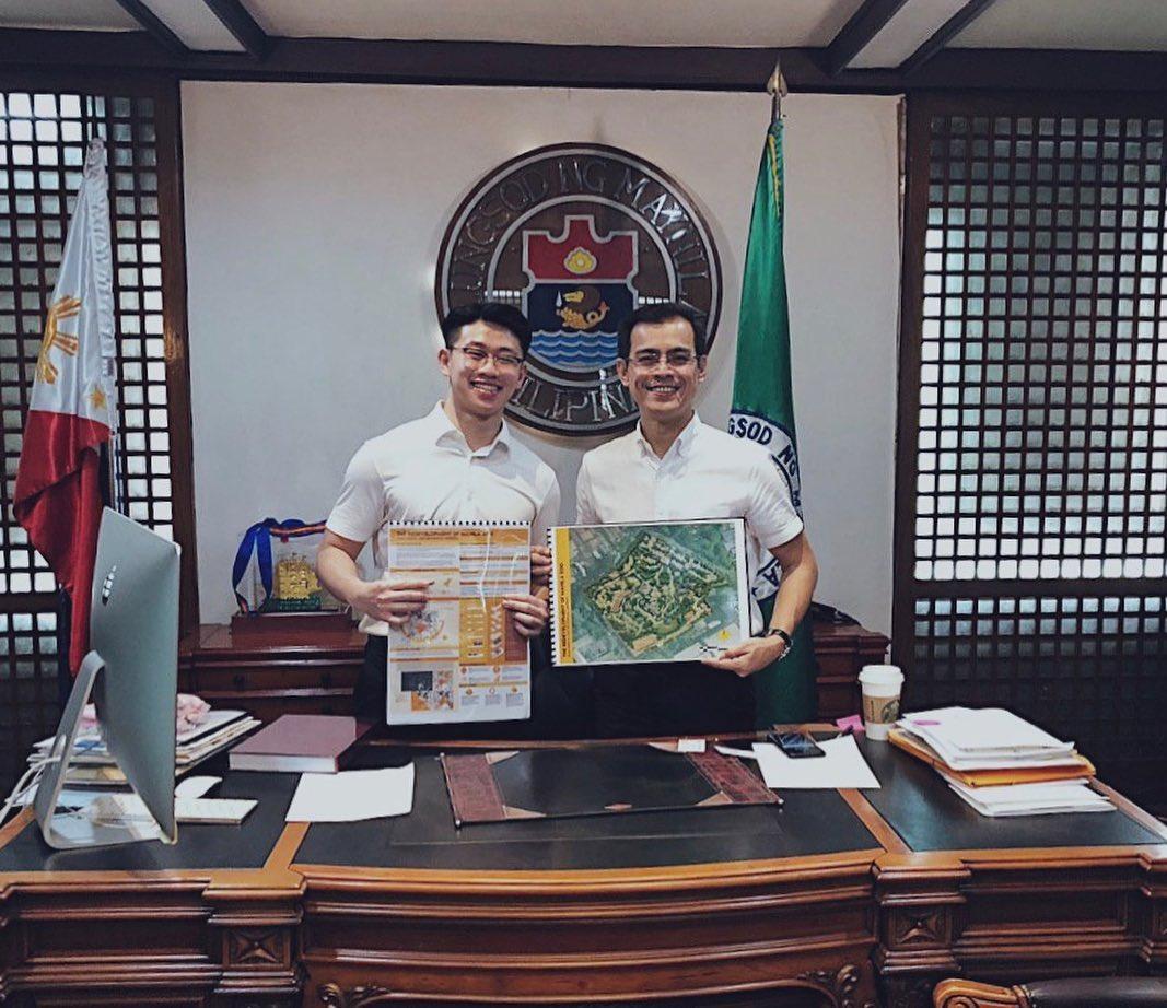 Manila Mayor Isko Moreno Domagoso met with Kevin Siy