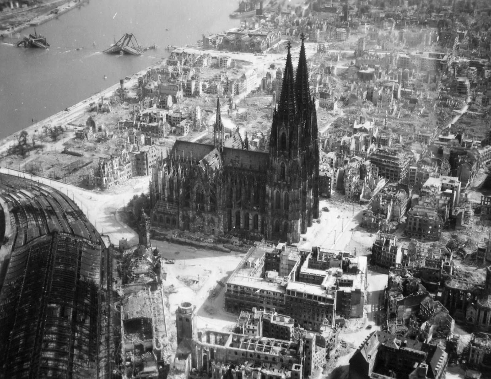 cologne cathedral ruins