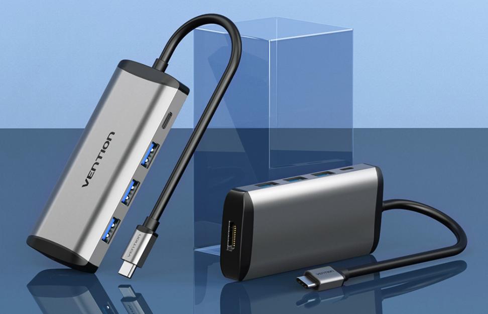 Vention USB Type C Converter, Vention, Vention USB Type C HDMI USB 3.0 PD Converter Adapter
