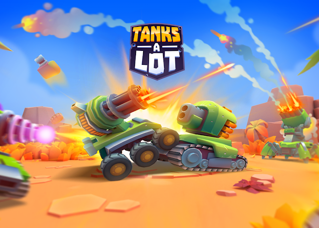 Game Android Terbaik game pertempuran tank menembak lucu multiplayer online battle arena