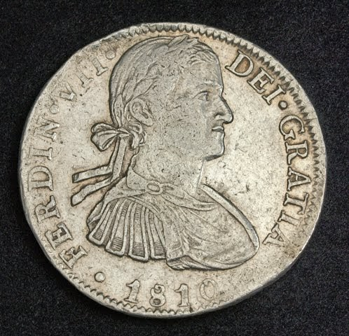 Mexico Coins Spanish Colonial 8 Reales Silver Coin Of 1810