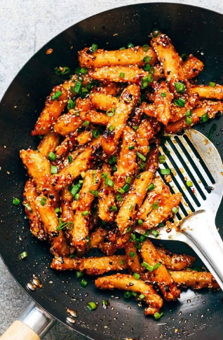 crispy honey chilli potatoes