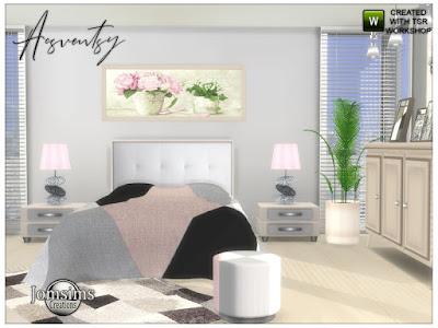 Спальня: 50 наборов мебели и декора для Sims 4 со ссылками для скачивания (1)