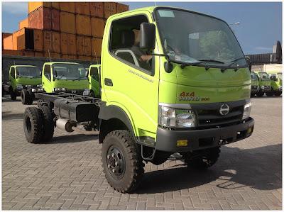 truk hino dutro 130 hd 4x4 surabaya