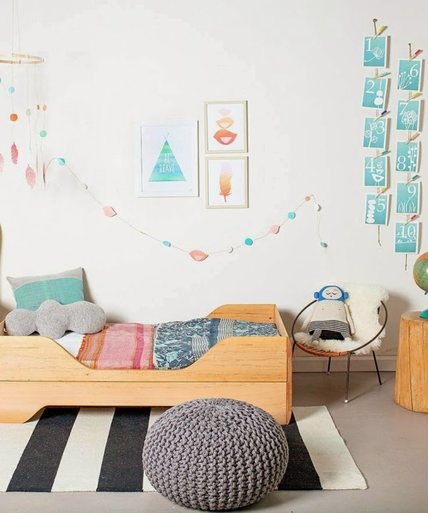 decoración dormitorio niña