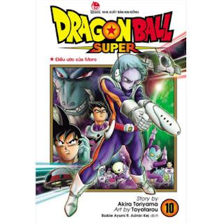 Dragon Ball Super Tập 10: Điều Ước Của Moro ebook PDF EPUB AWZ3 PRC MOBI