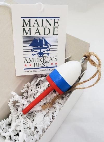 Nautical Christmas Ornament Buoys