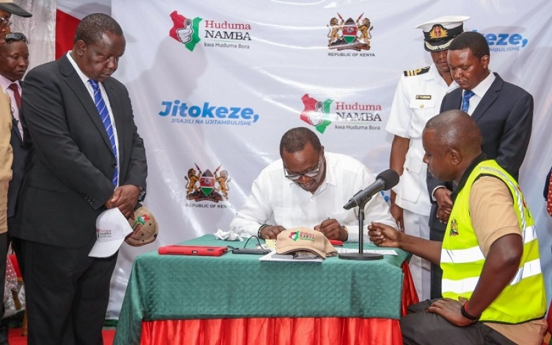 , 'Pay us Our Money' Huduma Namba Clerks Takes Twitter by Storm