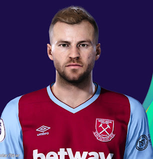 PES 2021 Faces Andriy Yarmolenko by Lucas
