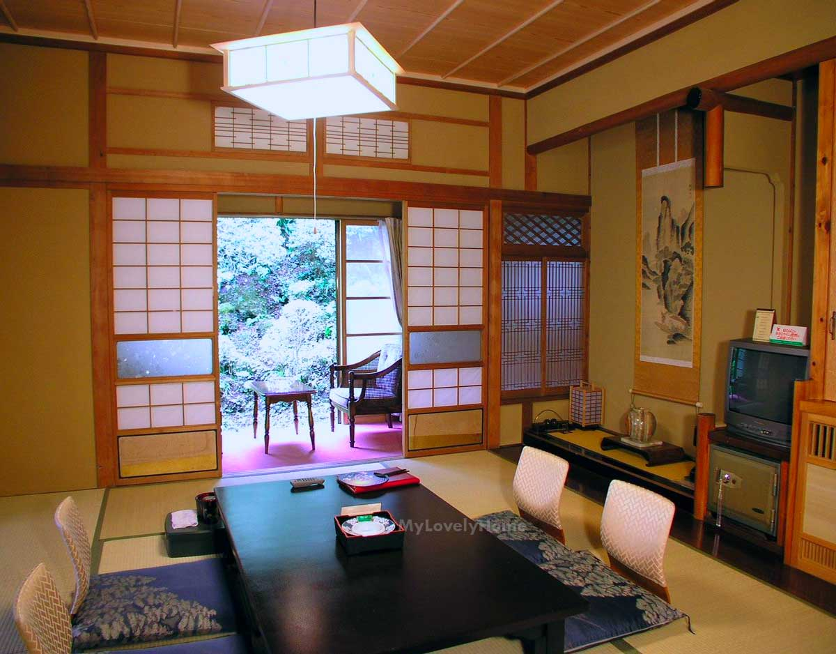 Modern Japanese Living Room Furniture Decorating Ideas