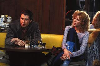 Nancy Allen con John Travolta en 'Impacto'
