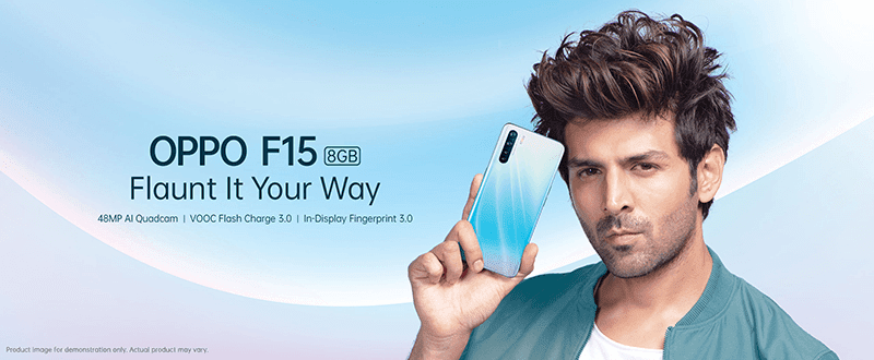 OPPO F15 now official
