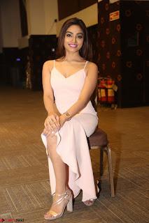 Aishwarya Devan in lovely Light Pink Sleeveless Gown 014.JPG
