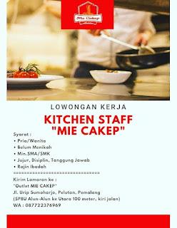 Loker Mie Cakep Pemalang
