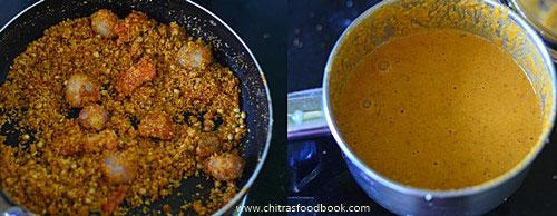 Hotel kara kuzhambu recipe