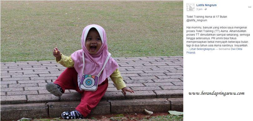 Sukses Toilet Training Pada Anak Usia Dini Ala Latifa Ningrum