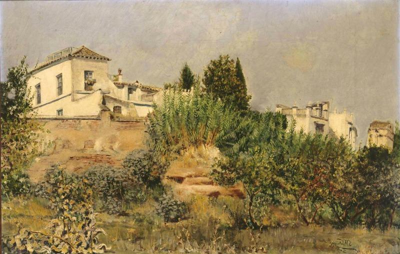 Huerta de Sevilla 1892 (Sevilla) Javier de Winthuysen