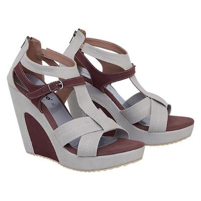 Sepatu Wedges Wanita Catenzo KM 042
