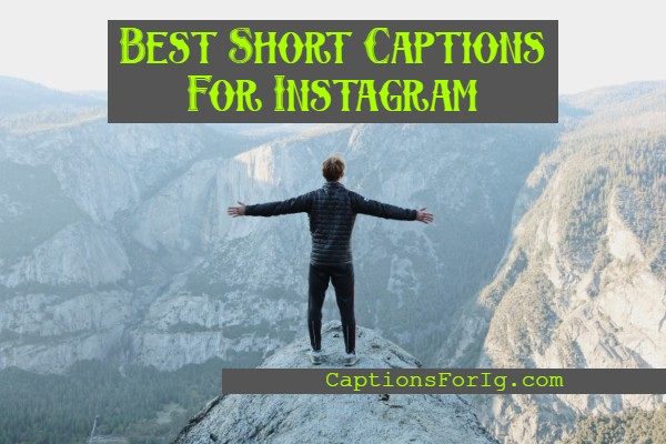 Short-Instagram-Captions