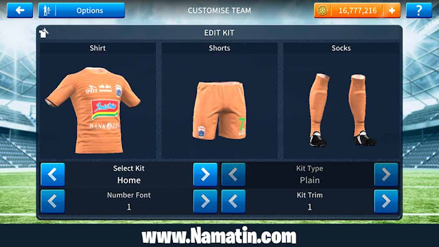 Baju Dream League Soccer Persija 2020