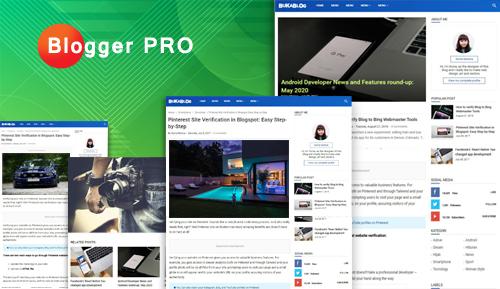 Blogger Pro - Personal Blog for Blogspot