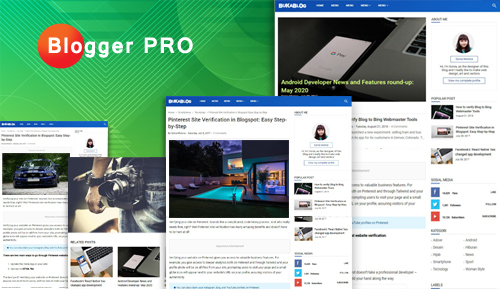 Blogger Pro - Personal Blog