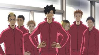 """ハイキュー!! 音駒高校 Haikyuu!!  NEKOMA OVA 陸VS空 ボールの""""道""""   Hello Anime !"""
