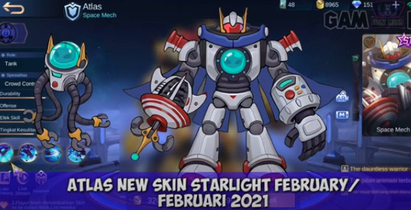 Bocoran Skin Starlight Member Februari 2021 - Mobile Legends