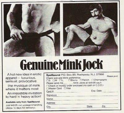 Genuine Mink Jock