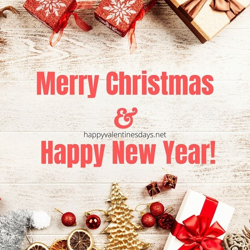 Merry Christmas and Happy New Year 2020 Images HD