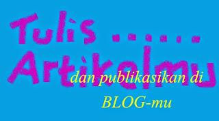 tutorial menulis artikel di blog